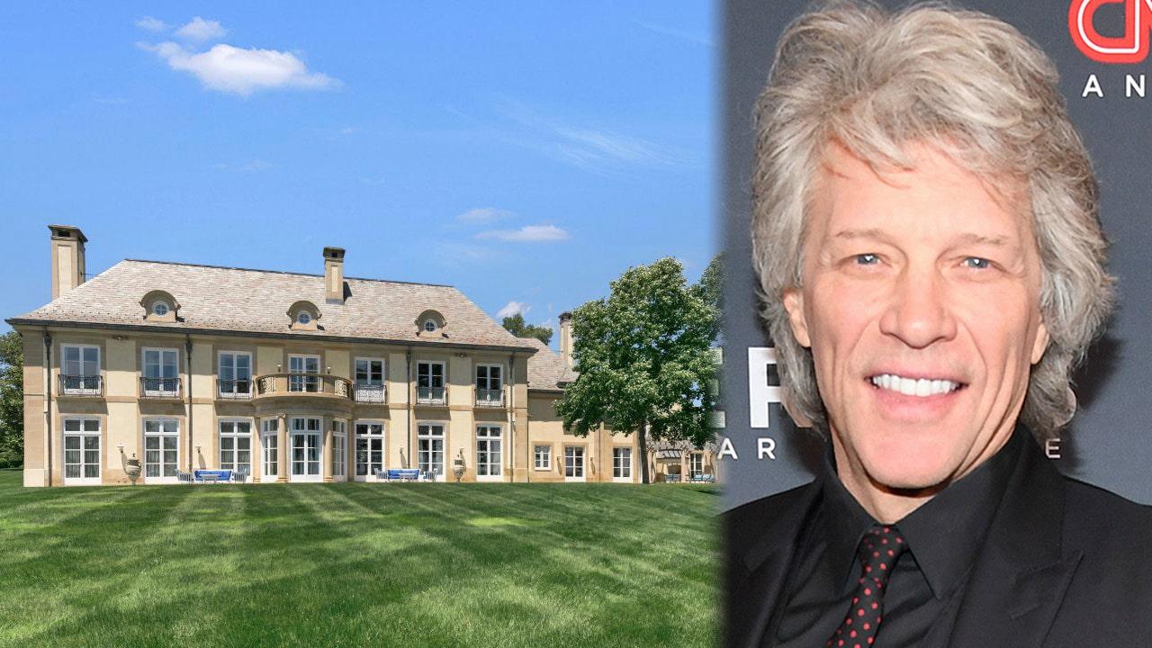 Bon Jovi selling huge New Jersey estate