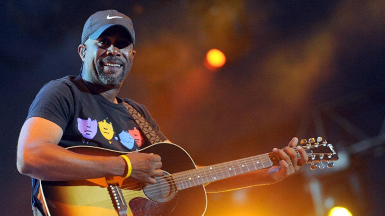 Country singer Darius Rucker's 'Wagon Wheel' goes eight-times platinum