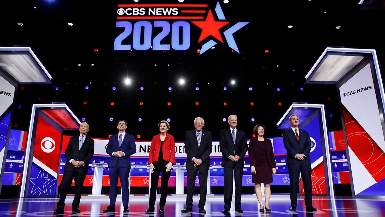 Trump fires back against coronavirus criticisms by Democrats during South Carolina debate