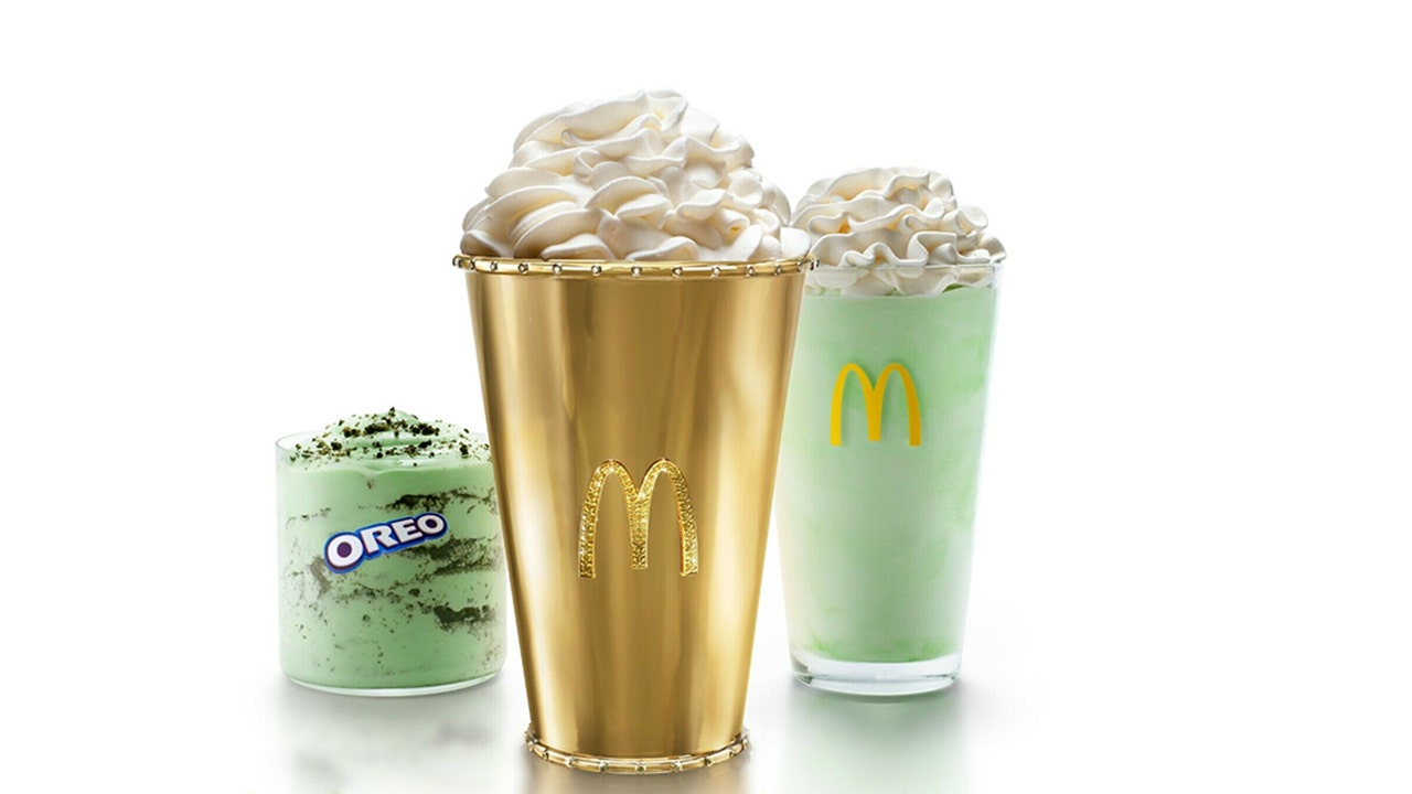 McDonald's $100K Shamrock Shake hits eBay auction block