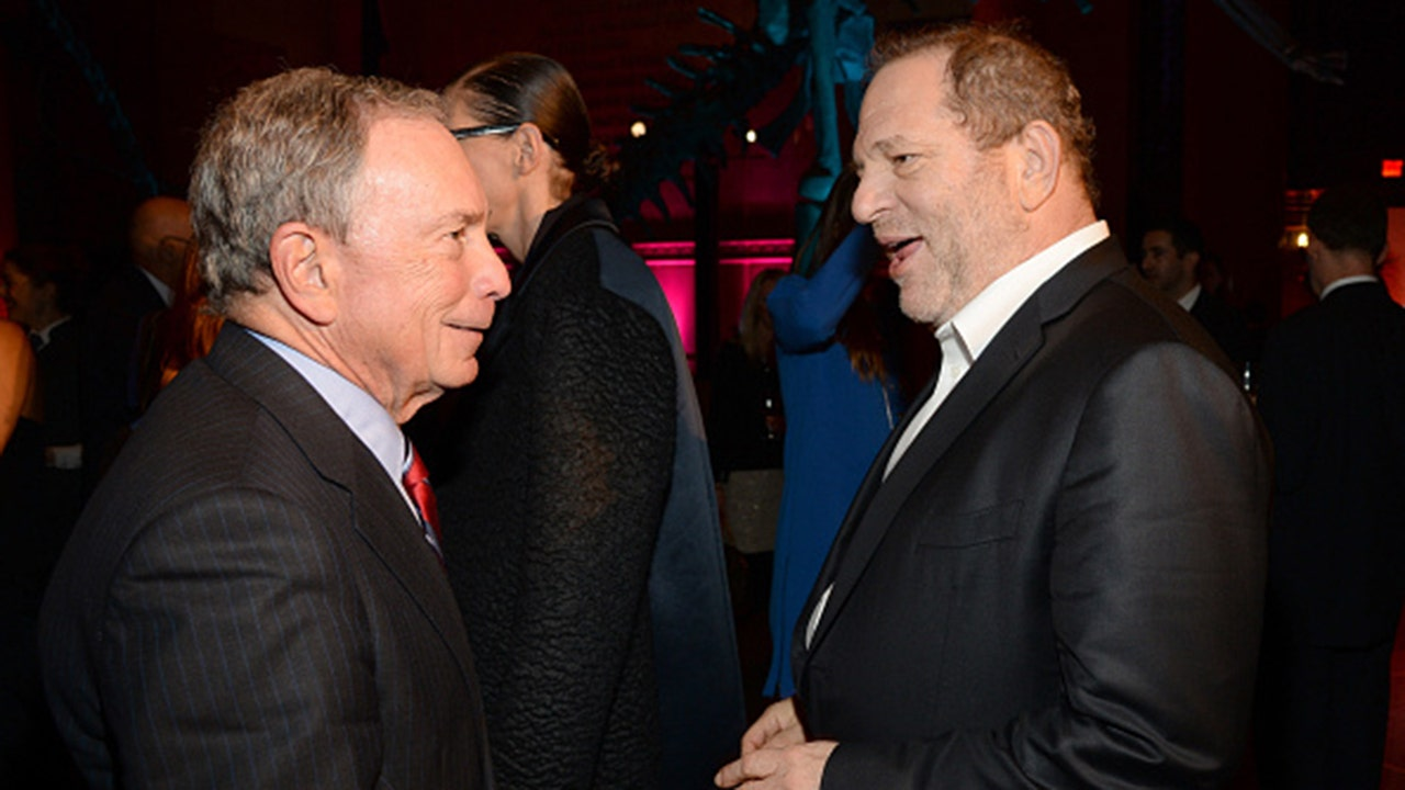 Image result for bloomberg weinstein