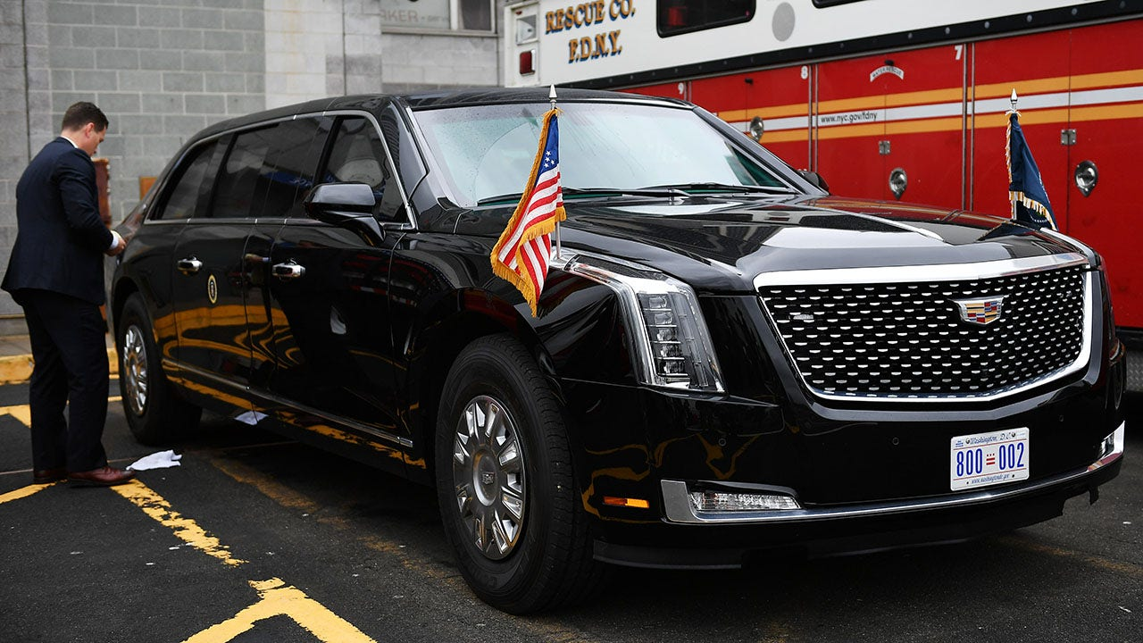 President Trump's armored limo, 'The Beast': What to know