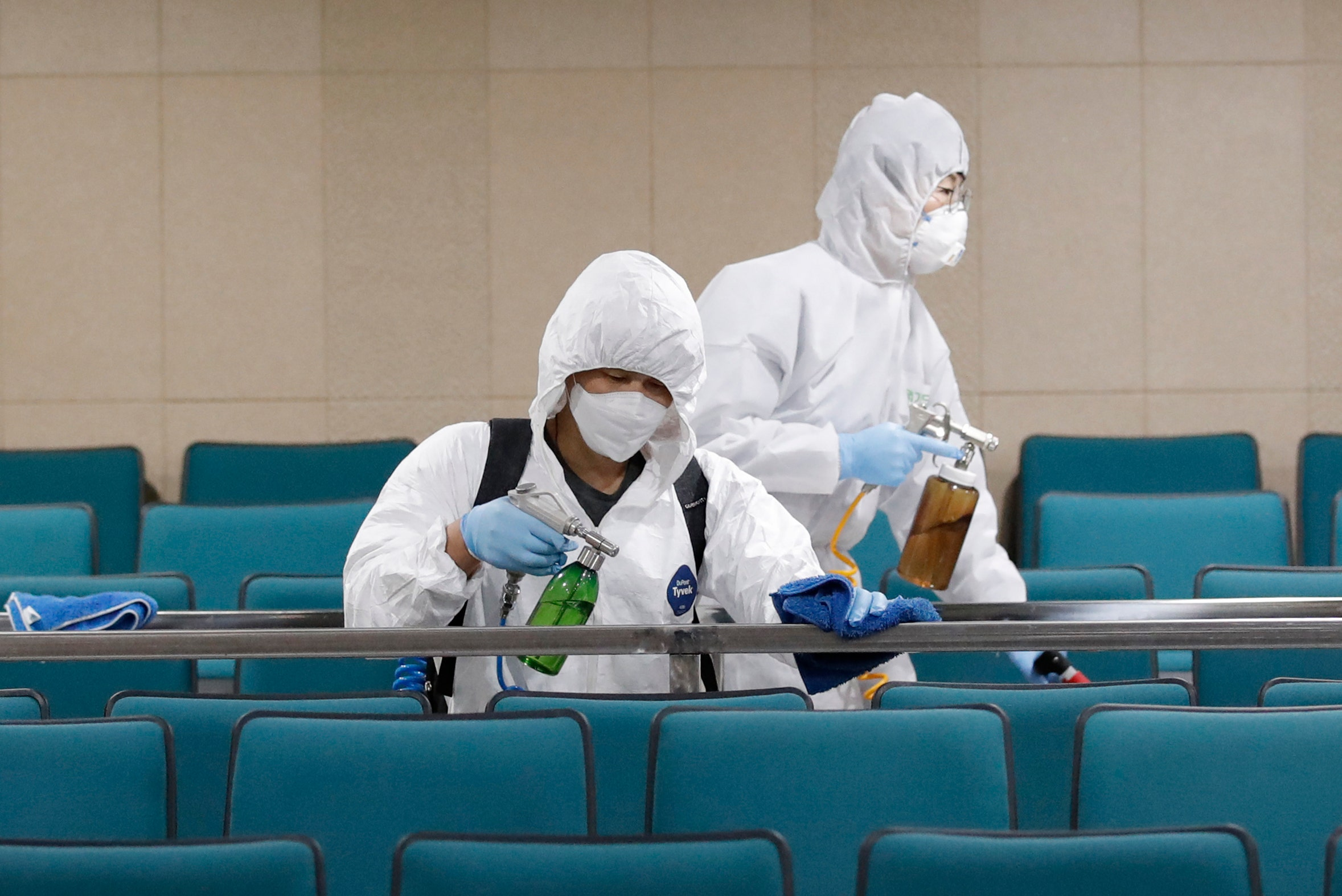 Coronavirus fears prompt spike in South Korea disinfection requests