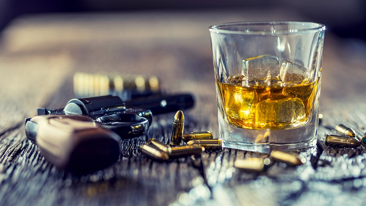 Do guns and alcohol mix at home? Court hearing man's case