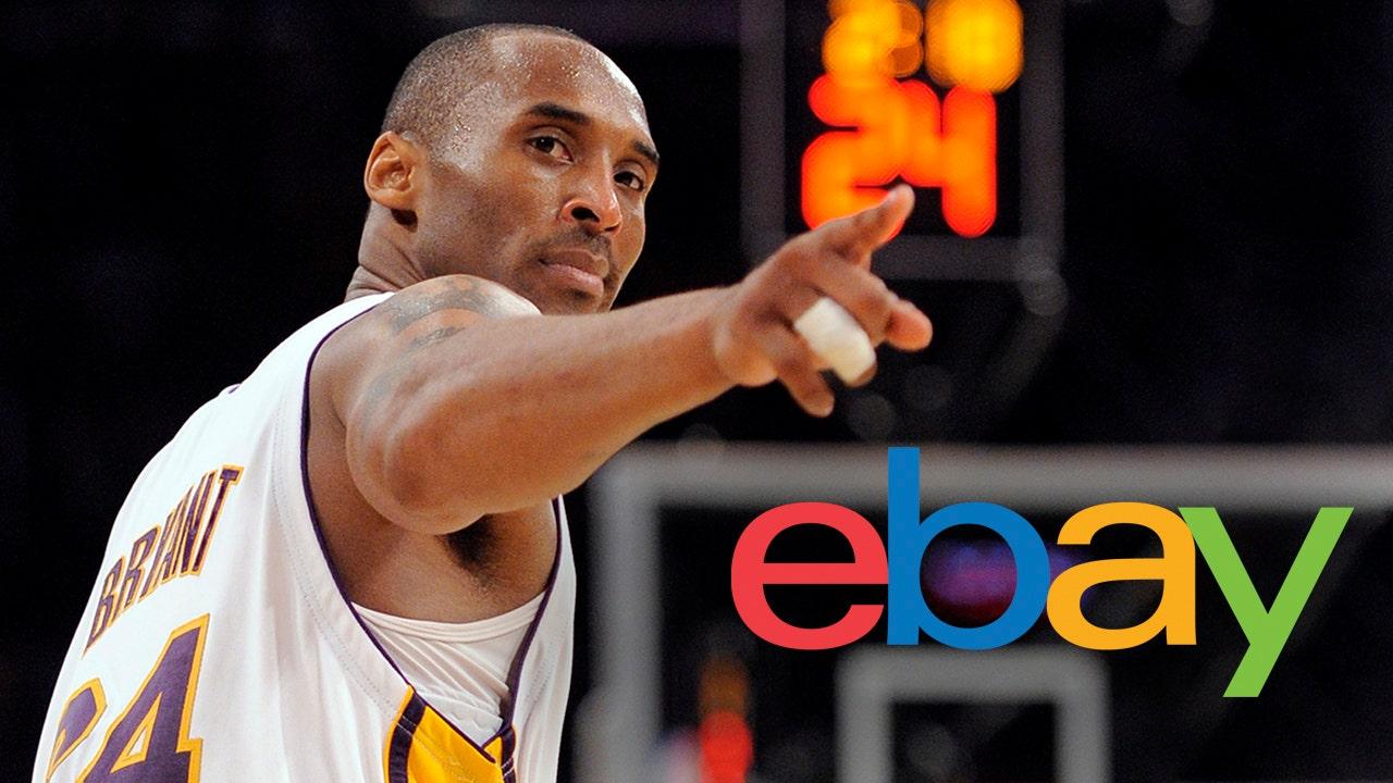 eBay removes Kobe Bryant memorial merchandise listings