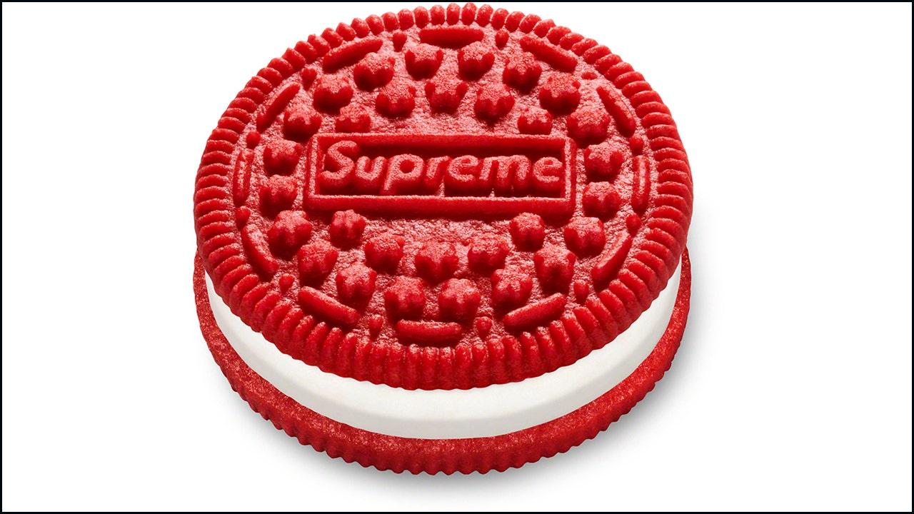 Supreme, Oreo launch 'designer' cookie collaboration