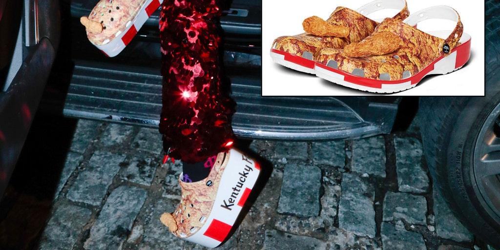 KFC cooks up themed Crocs in chicken sandwich wars