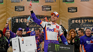 How much is Daytona 500 winner Denny Hamlin worth?