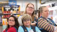 Walmart's 'Grumpy Gran' goes viral on social media