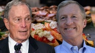 Bloomberg, Steyer lavish campaign spending includes food tab