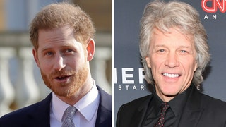 Prince Harry posts fake texts with Bon Jovi ahead of concert