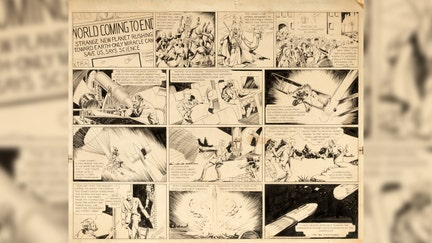 Original 'Flash Gordon' comic strip art hits auction block