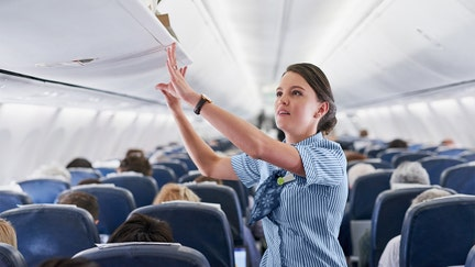 President of the Association of Flight Attendants says employees at breaking point