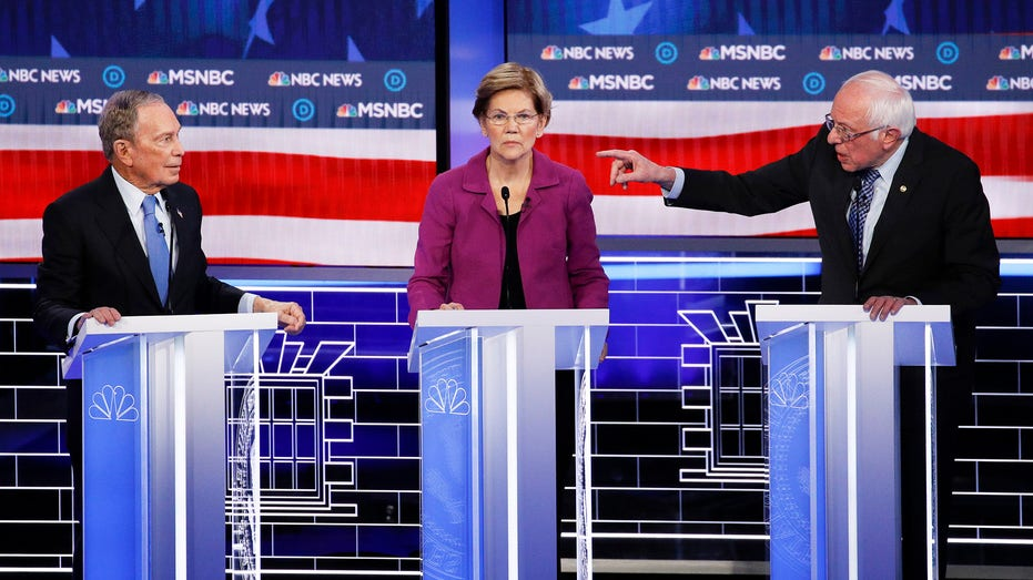 Slugfest in Vegas is most-watched Democratic primary debate ever