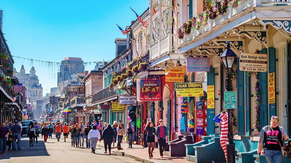 Bourbon Street New Orleans