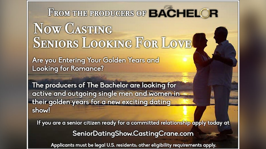 A 'Bachelor' for seniors is coming