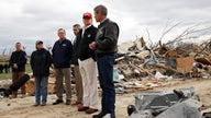 Trump visits Nashville tornado disaster areas, victims