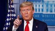 Coronavirus relief costs over $100B, Trump says
