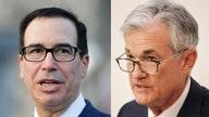 Stock swoon has Mnuchin, Powell talking daily