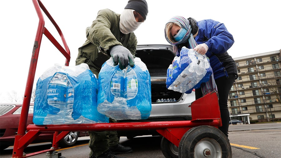 Millions of Americans face water shortages as coronavirus grips