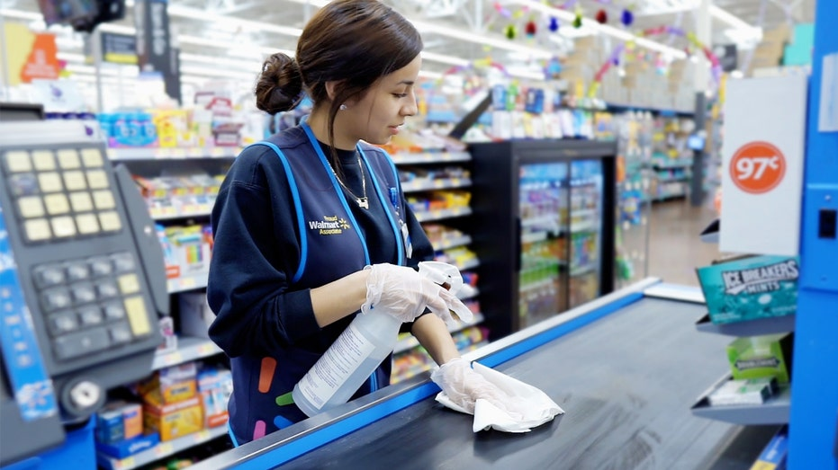 Walmart will start taking employees' temperatures before shifts