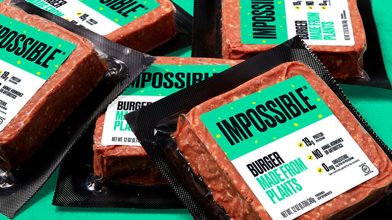 Impossible Foods to sell plant-based patties through food wholesaler Cheetah | Fox Business