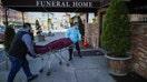 Funeral homes struggling amid coronavirus death surge