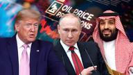 Trump, Putin confer on stabilizing oil markets