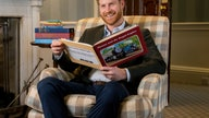 Prince Harry records message for Thomas the Tank Engine