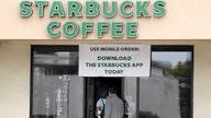 Coronavirus hurts Starbucks sales as coffee giant eyes reopening