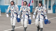 Despite coronavirus, astronauts blast off to International Space Station