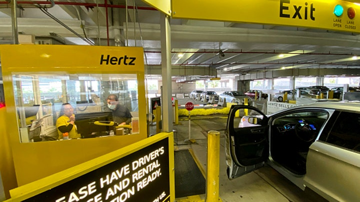 Rental car giant Hertz files for bankruptcy