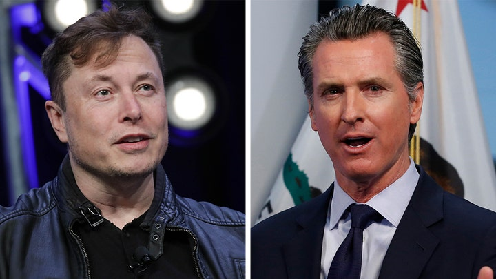 CA gov fires back at Tesla CEO Elon Musk's outraged, anti-lock down rant