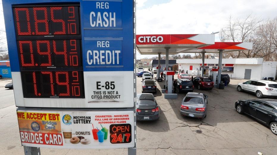 Some gas prices drop under a dollar per gallon due to coronavirus