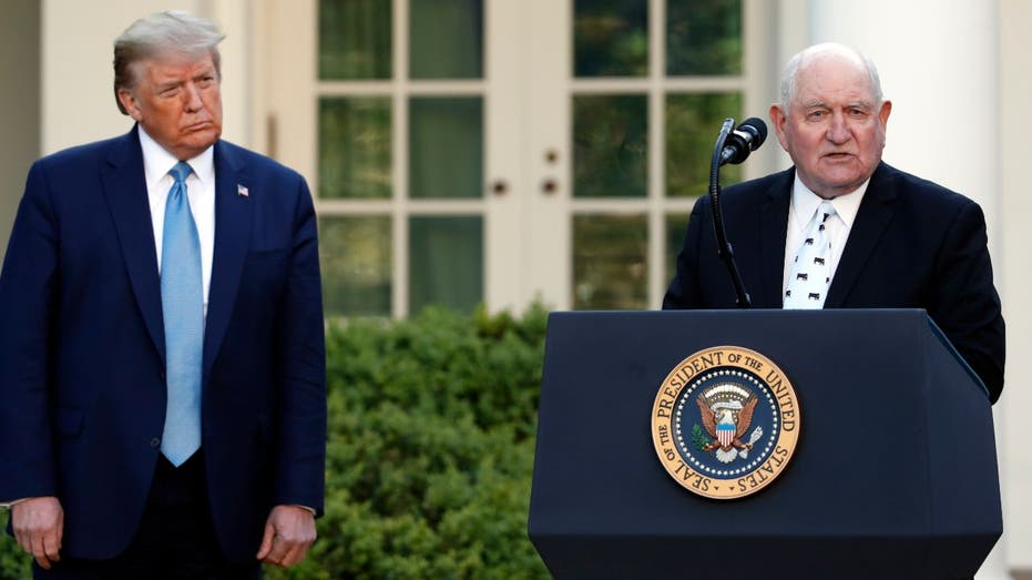 Trump announces $19 billion program for farmers hit by COVID-19