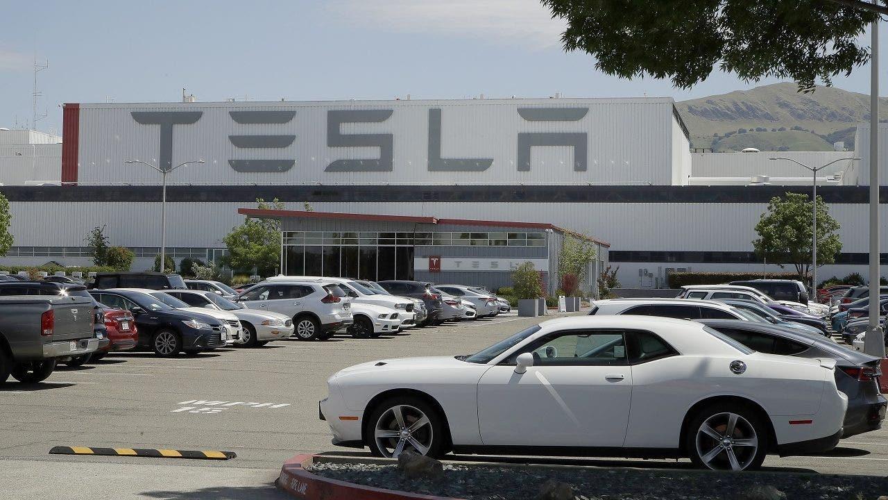 Elon Musk confirms Tesla plant closure amid stock slide