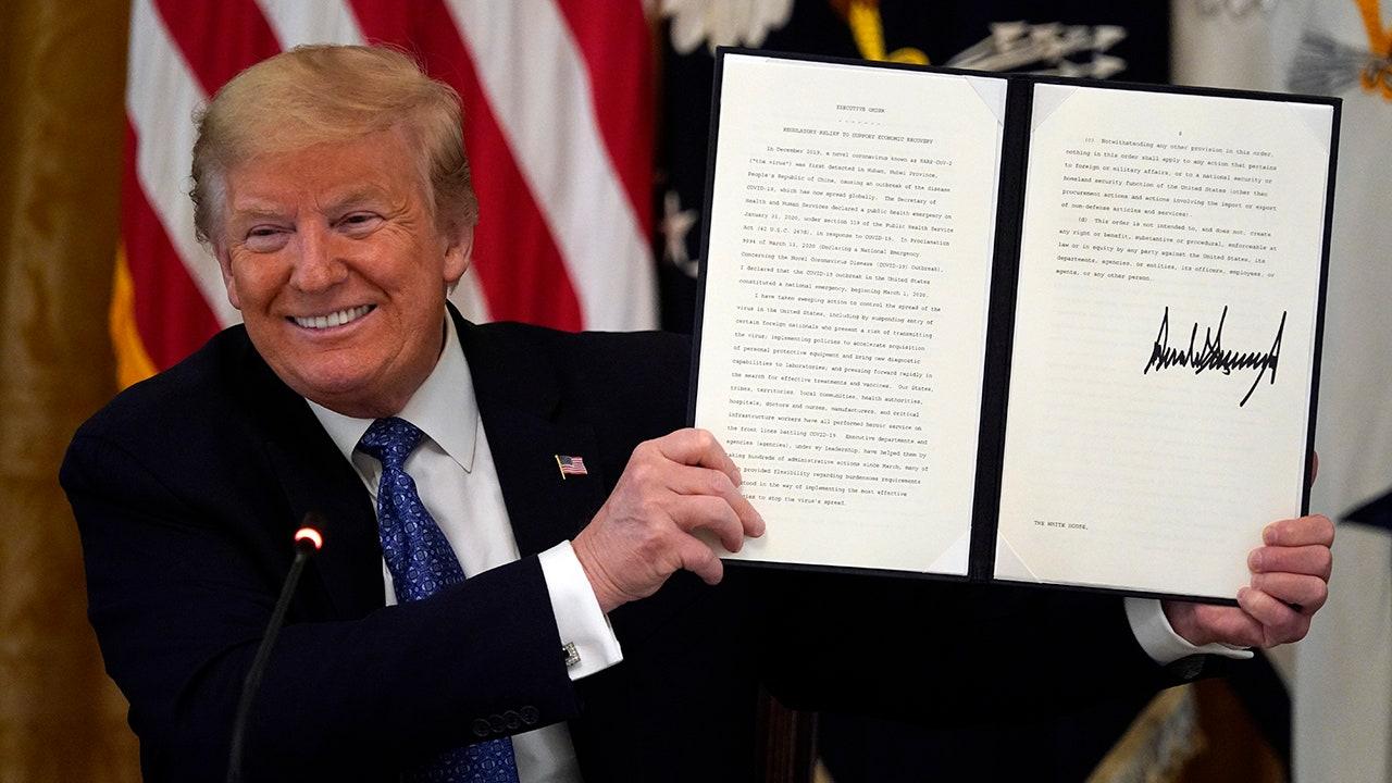 Trump signs E.O.: 'Regulations will be cut' | Fox BusinessTrump Executive Order Tonight