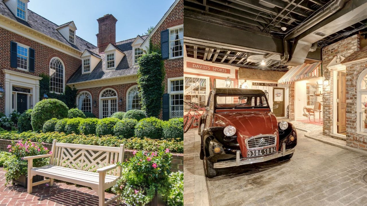 Maryland Mansion With Unique Replica Town In Basement Listed For 4 5m Fox Business