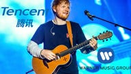 Tencent eyes Warner Music stake