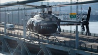 Coronavirus oxygen levels tested before Blade helicopter boarding
