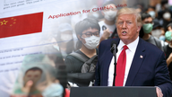 Trump announces new actions against China over Hong Kong, coronavirus