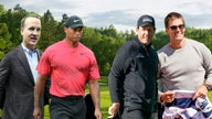 Tom Brady, Tiger Woods golf match raises $20M for coronavirus charity, Brady jokes about splitting his pants
