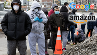 Amazon, Google help states as coronavirus boosts unemployment claims