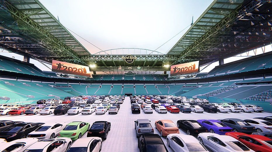 Miami Dolphins turning Hard Rock Stadium into drive-in movie theater