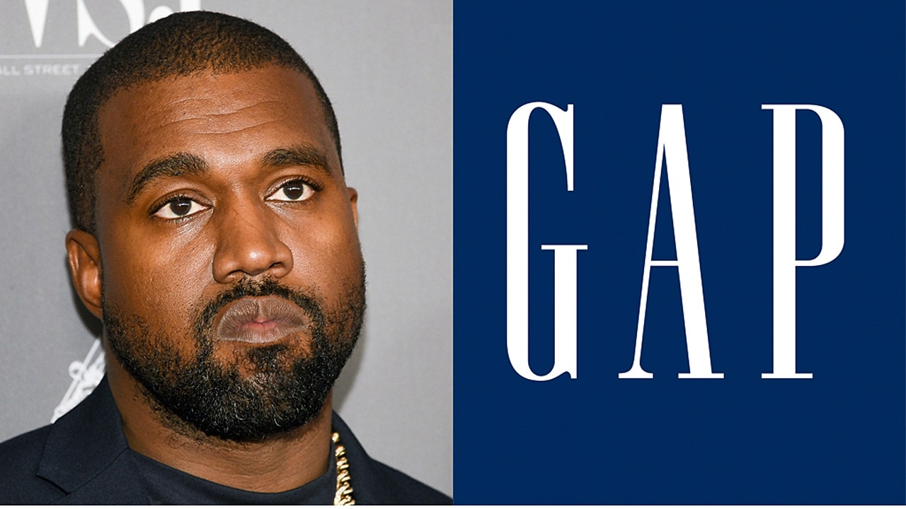 Kanye West reveals official Yeezy x Gap logo