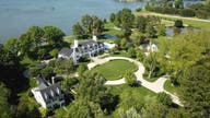 $15M Maryland home includes WWII Spitfire, stone church 'ruins'