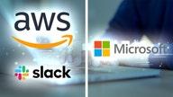 Amazon, Slack team up against Microsoft