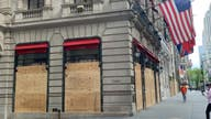 NYC's 5th Avenue prepares for more riots with boarded windows