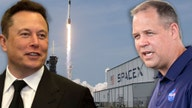 Elon Musk praises NASA's private enterprise partnership