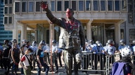 Statue of Frank Rizzo, former Philadelphia mayor, is removed after protests